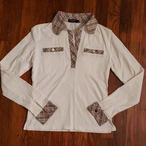 Burberry kids large shirt